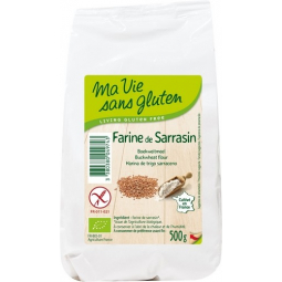 Farine De Sarrasin Bio 500g MA VIE SANS GLUTEN