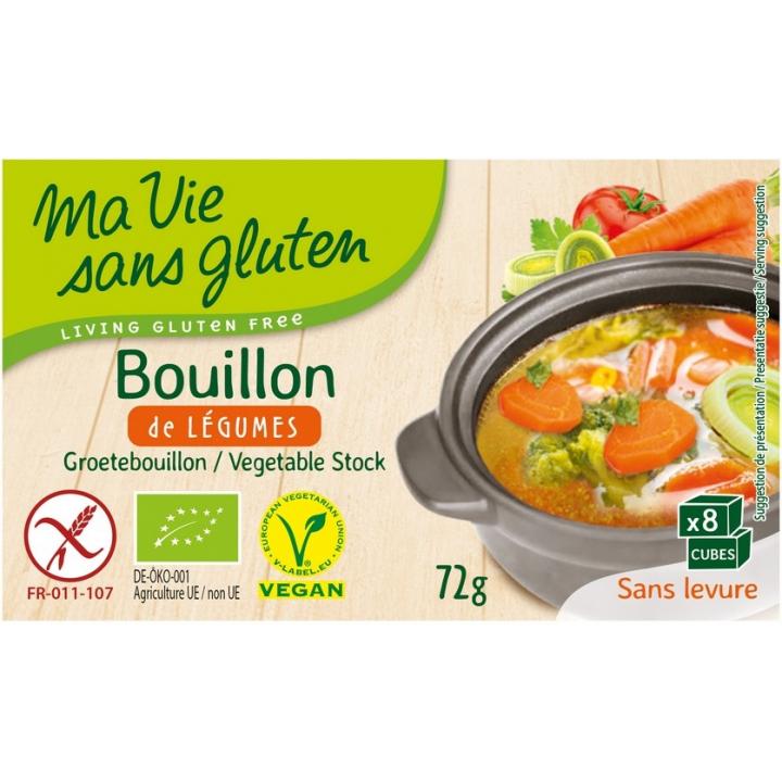 Bouillon De Légumes Bio 72g MA VIE SANS GLUTEN