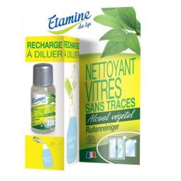 Recharge Nettoyant Vitres Sans Traces 50ml ETAMINE DU LYS
