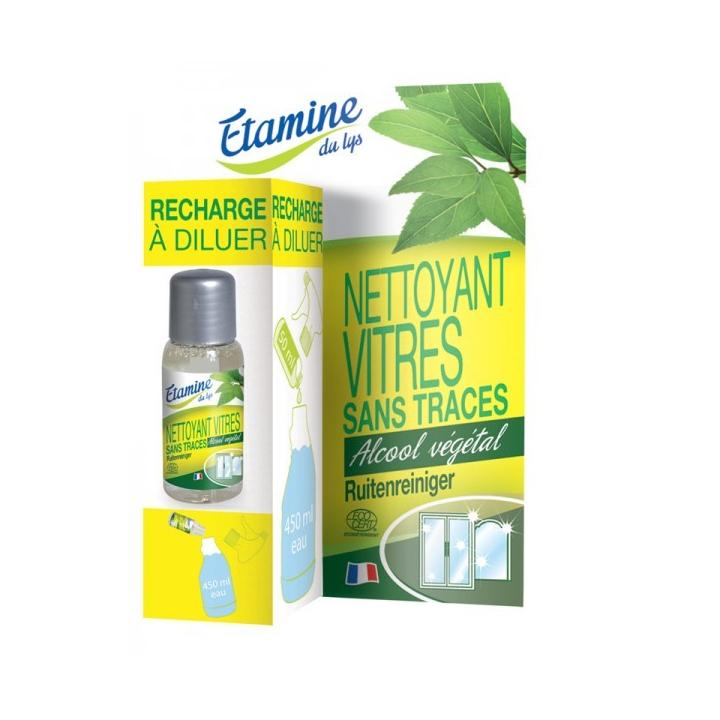 Recharge Nettoyant Vitres Sans Traces 50ml ETAMINE DU LYS dans sa boite