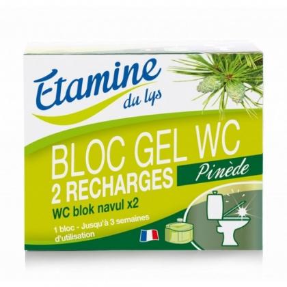 Recharge Bloc Gel WC Pinède 2x50ml ETAMINE DU LYS
