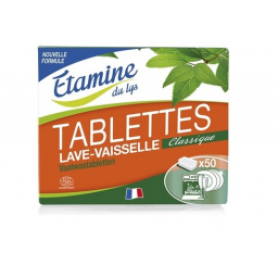 Tablettes Lave Vaisselle 25 Unités ETAMINE DU LYS - Belvibio