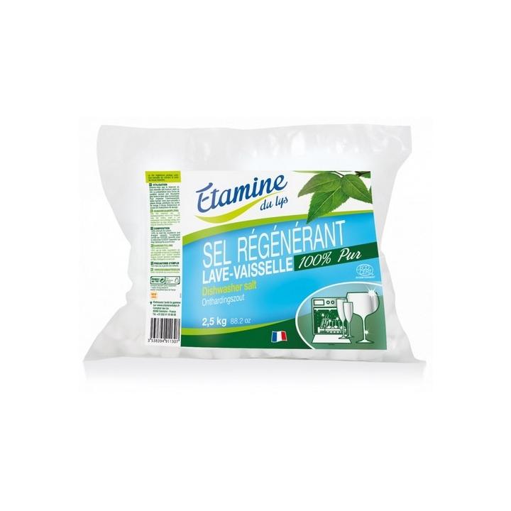 Sel Régénérant Lave Vaisselle 2,5kg ETAMINE DU LYS