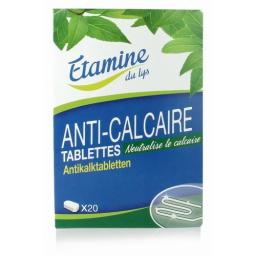 Tablettes Anti-Calcaire 20 Unités ETAMINE DU LYS