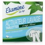Vente Activateur Linge Blanc 20 Tablettes ETAMINE DU LYS