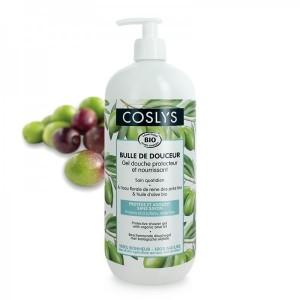Vente Gel Douche Protecteur Olive Bio 1l COSLYS