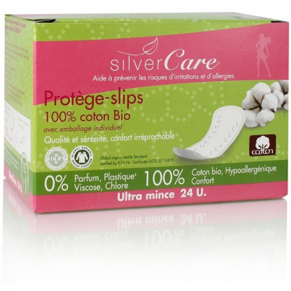 Protèges Slips Emballage Individuel 24 Pièces SILVER CARE
