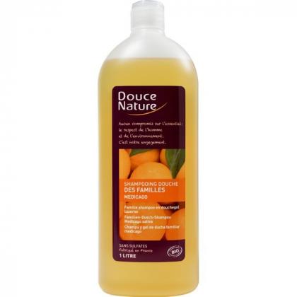 Shampooing Douche Des Familles Bio 1L DOUCE NATURE