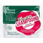 Vente Fleur De Shampooing Cheveux Secs Bio 85g DOUCE NATURE
