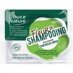 Vente Fleur De Shampooing Cheveux Gras Bio 85g DOUCE NATURE