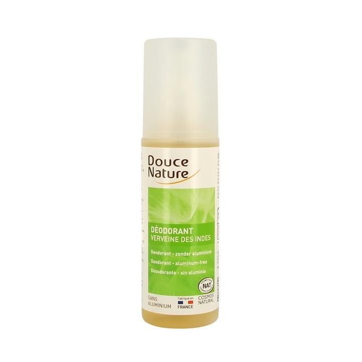 Déodorant Spray Corporel Verveine Des Indes Bio 125m DOUCE NATURE