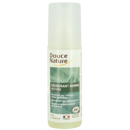 Déodorant Spray Homme Vétiver Bio 125ml DOUCE NATURE