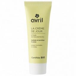 Crème De Jour Bio Peaux Normales Et Mixtes 50ml AVRIL