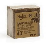 Vente Savon d'Alep 40% HBL 200g NAJEL