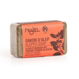 Savon d'Alep Fleur d'Oranger Bio 100g NAJEL