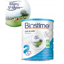 Lait De Suite 2e Age 6 à 12 Mois Bio 900g BIOSTIME