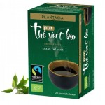 Vente Thé Vert Pur Bio 20 Sachets PLANTASIA