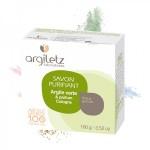 Vente Savon Purifiant Argile Verte Parfum Cologne 100g ARGILETZ