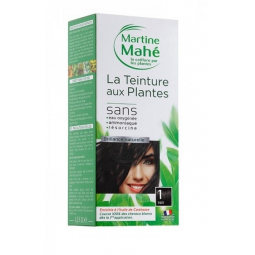 Teinture Aux Plantes N°1 Noir 125ml ou 250ml MARTINE MAHE