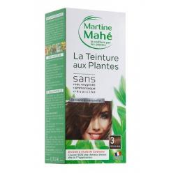 Teinture Aux Plantes N°3 Châtain Doré 125ml MARTINE MAHE