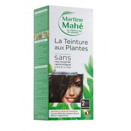 Teinture Aux Plantes N°2 Châtain Foncé 125ml MARTINE MAHE