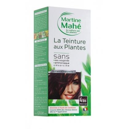 Teinture Aux Plantes N°4bis Châtain Roux 125ml MARTINE MAHE