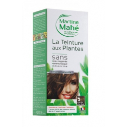 Teinture Aux Plantes N°5 Châtain Clair Doré 125ml MARTINE MAHE