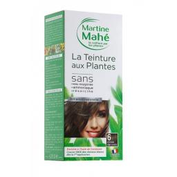 Teinture Aux Plantes N°6 Châtain Clair Cendré 125ml MARTINE MAHE