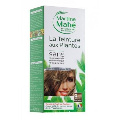 Teinture Aux Plantes N°8 Blond Cendré 125ml MARTINE MAHE