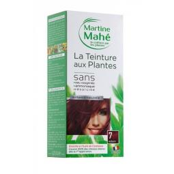 Teinture Aux Plantes N°7 Auburn 125ml ou 250ml MARTINE MAHE