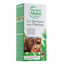 Teinture Aux Plantes N°9 Blond Doré 125ml MARTINE MAHE