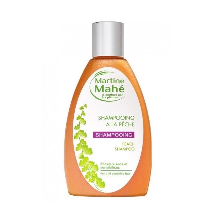 Shampoing à La Pêche Cheveux secs sensibilisés 200ml MARTINE MAHE
