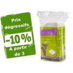 Vente Maxi Carré 100% Coton Bio sachet de 60 Coton SILVERCARE