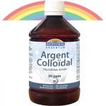 Vente Argent Colloïdal 20ppm 500ml ou 1l BIOFLORAL