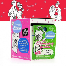 Shampoing Poudre Cheveux Gras Bio 12x1g SECRETS DE PROVENCE