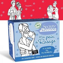 Pain De Rasage Homme Bio 90g SECRETS DE PROVENCE