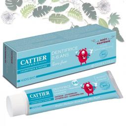 Dentifrice Enfants 2-6 Ans Goût Pastèque Bio 50ml CATTIER