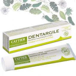 Dentifrice Adultes Dentargile Anis Bio 75ml CATTIER