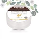 Vente Beurre de Karité Bio Parfum Miel 100g CATTIER