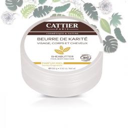 Beurre de Karité Bio Parfum Miel 100g CATTIER