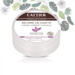 Vente Beurre de Karité Bio Parfum Fleurs des Iles 100g CATTIER