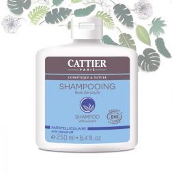 Shampoing Bois de Saule Bio Antipelliculaire 250ml CATTIER