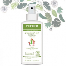 Spray Démêlant Familial Bio 200ml CATTIER