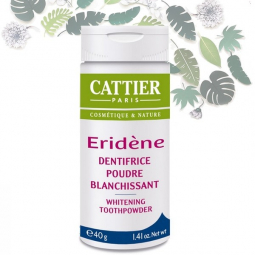 Dentifrice Poudre Blanchissant Eridène 40g CATTIER