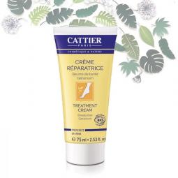 Crème Réparatrice Pieds Secs Bio 75ml CATTIER