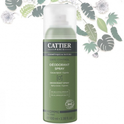 Déodorant Spray Safe Control Bio 100ml CATTIER