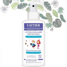 Lotion Capillaire Protectrice Contre Poux Bio 200ml CATTIER