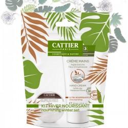 Kit Nourrissant Crème Mains + Beurre de Karité Bio CATTIER