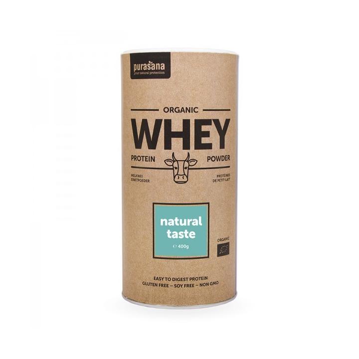 Whey Protéine De Petits Lai Nature Bio 400g PURASANA
