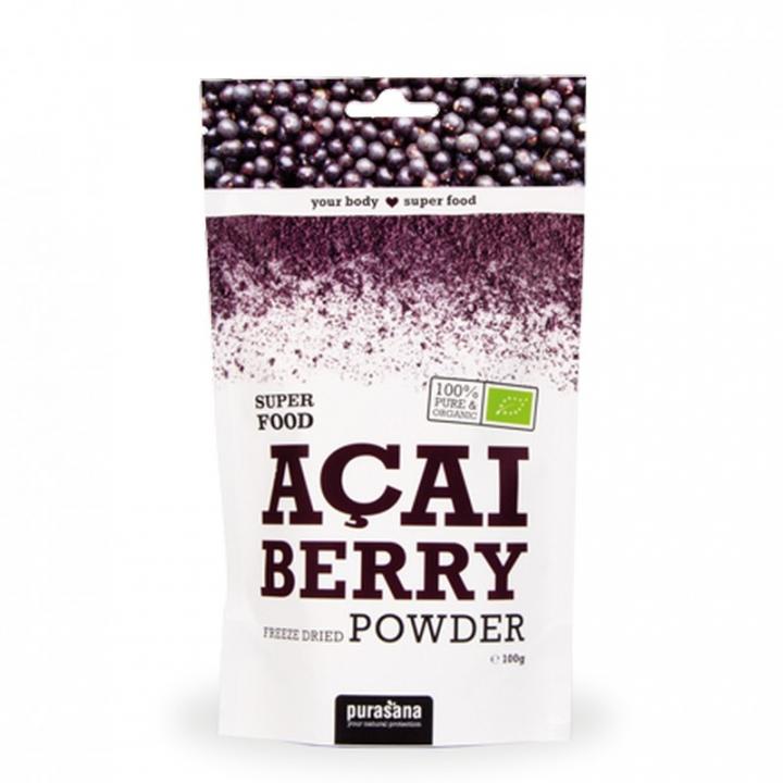 Super Food Baies d'Açai Bio 100g PURASANA